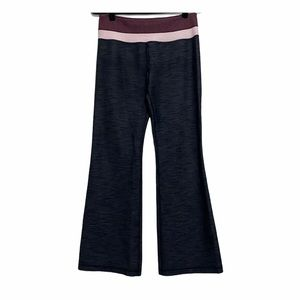 Lululemon Dark Gray Flare Leg Groove Pant